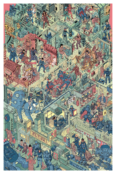 """The Raid"" by Josan Gonzalez & Laurie Greasley - Hero Complex Gallery  - 1"