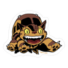 """Catbus"" Sticker by Joshua Budich"