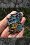 """Howl's Moving Castle"" Pin by Joshua Budich"