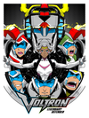 """Ready to Form Voltron"" by Joshua Budich - Hero Complex Gallery"