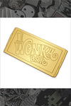 "633. ""Wonka Bar"" Golden Ticket Variant Pin by Joshua Budich - Hero Complex Gallery"
