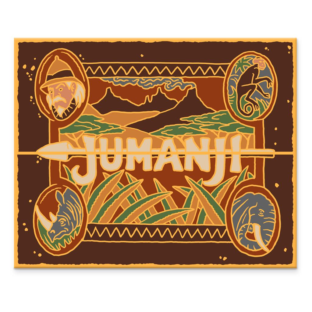 """Jumanji"" Pin by Kevin M Wilson / Ape Meets Girl"