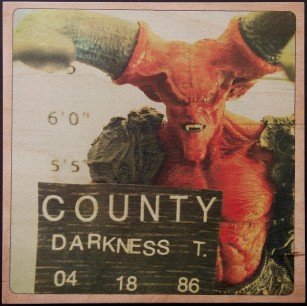 """1986 Mugshot of Darkness, T."" by Justin Dec - Hero Complex Gallery"