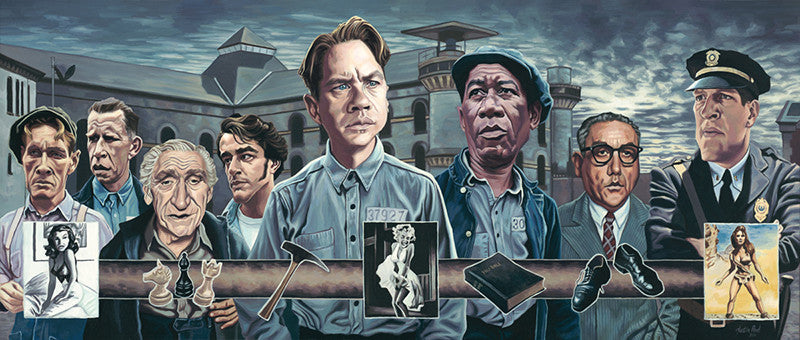 """The Shawshank Redemption"" by Justin Reed - Hero Complex Gallery"