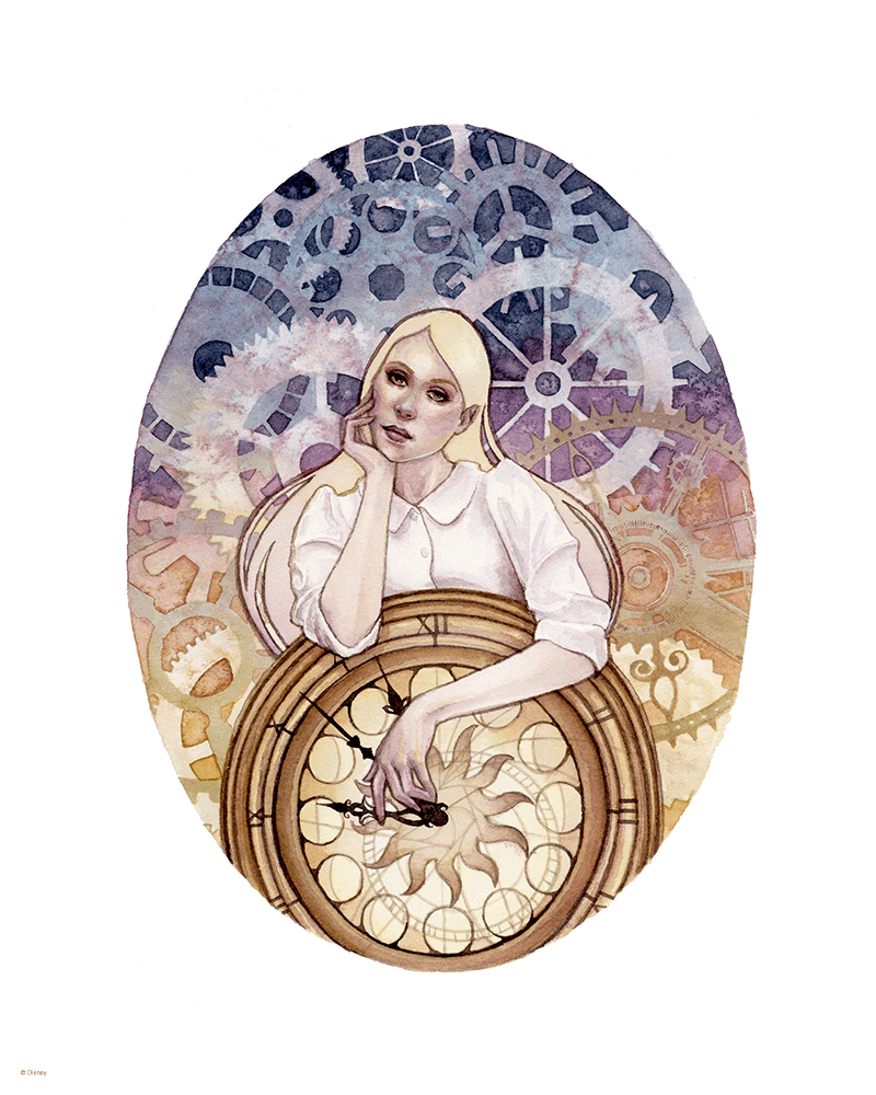 """Tempus Fugit"" by Kelly McKernan - Hero Complex Gallery"