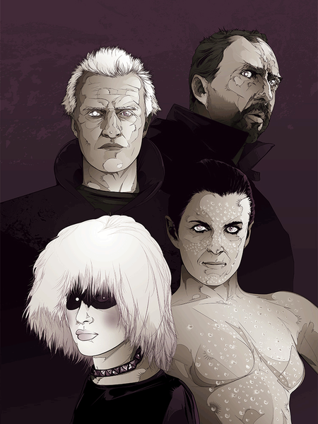 "4 of Spades: ""Replicants"" by Kako - Hero Complex Gallery"
