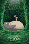 """Totoro and Mei"" by Kevin M Wilson / Ape Meets Girl"