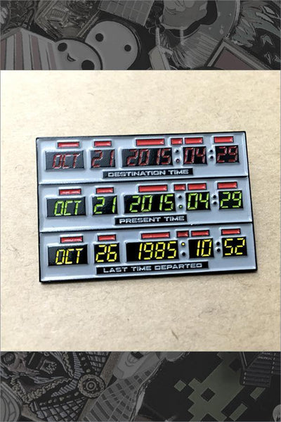 """BTTF Time Circuits"" Pin by Kevin M Wilson"