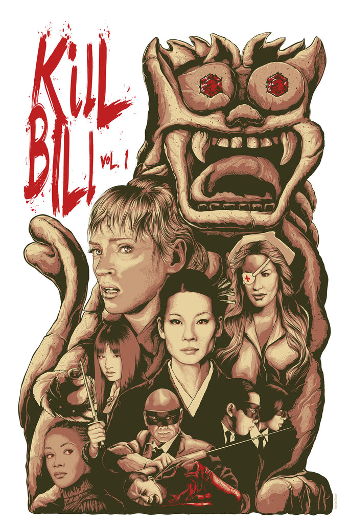 """Kill Bill Vol. 1"" by Steven Holliday - Hero Complex Gallery"