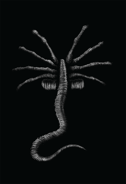 """Facehugger"" by KYLE WILKINSON - Hero Complex Gallery"