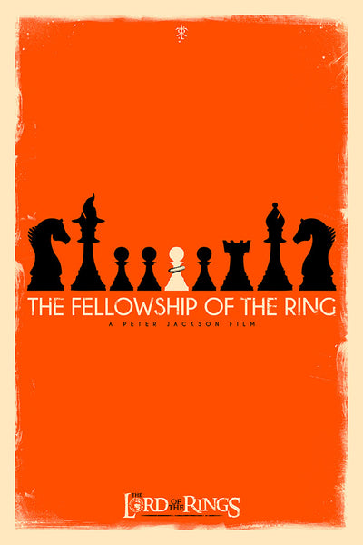 """Checkmate: Fellowship of the Ring"" by Patrick Connan - Hero Complex Gallery  - 1"