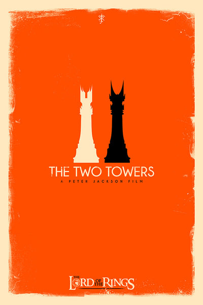 """Checkmate: The Two Towers"" by Patrick Connan - Hero Complex Gallery  - 1"