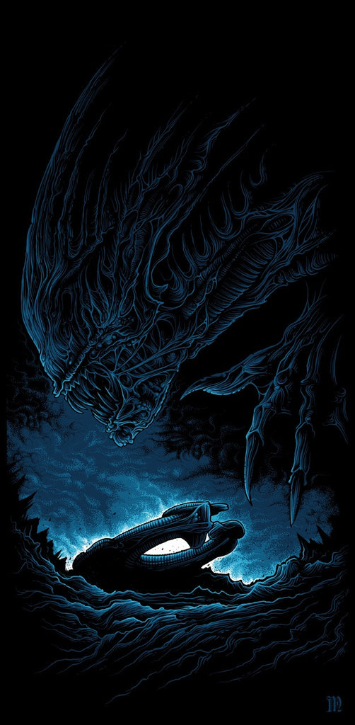 """LV-426"" by Dan Mumford - Hero Complex Gallery"