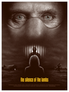 "Cinematic Psychopaths: ""The Silence of the Lambs"" by Adam Rabalais - Hero Complex Gallery"