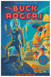 """Buck Rogers and his Ray Gun"" by Laurent Durieux $55.00 - SOLD OUT - Hero Complex Gallery"