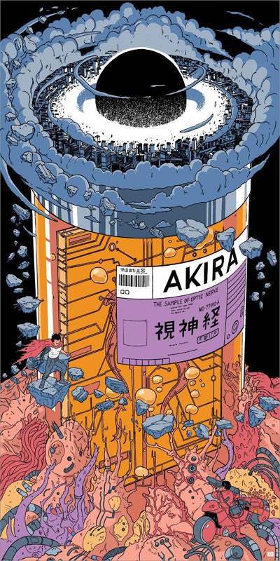 """Akira"" by Laurie Greasley"