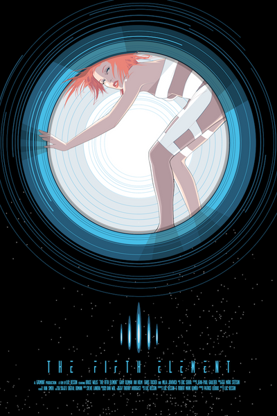"""Leeloo"" by Craig Drake - Hero Complex Gallery"