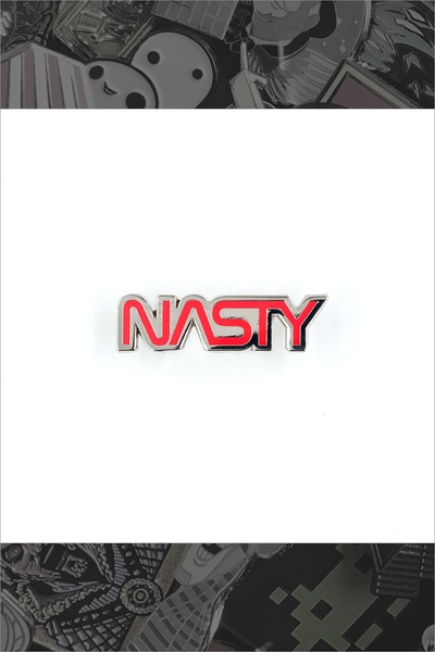 "644. ""Nasty"" Pin by Little Shop of Pins"