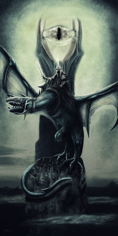 """Lord of the Nazgûl"" by Chris Skinner - Hero Complex Gallery  - 1"