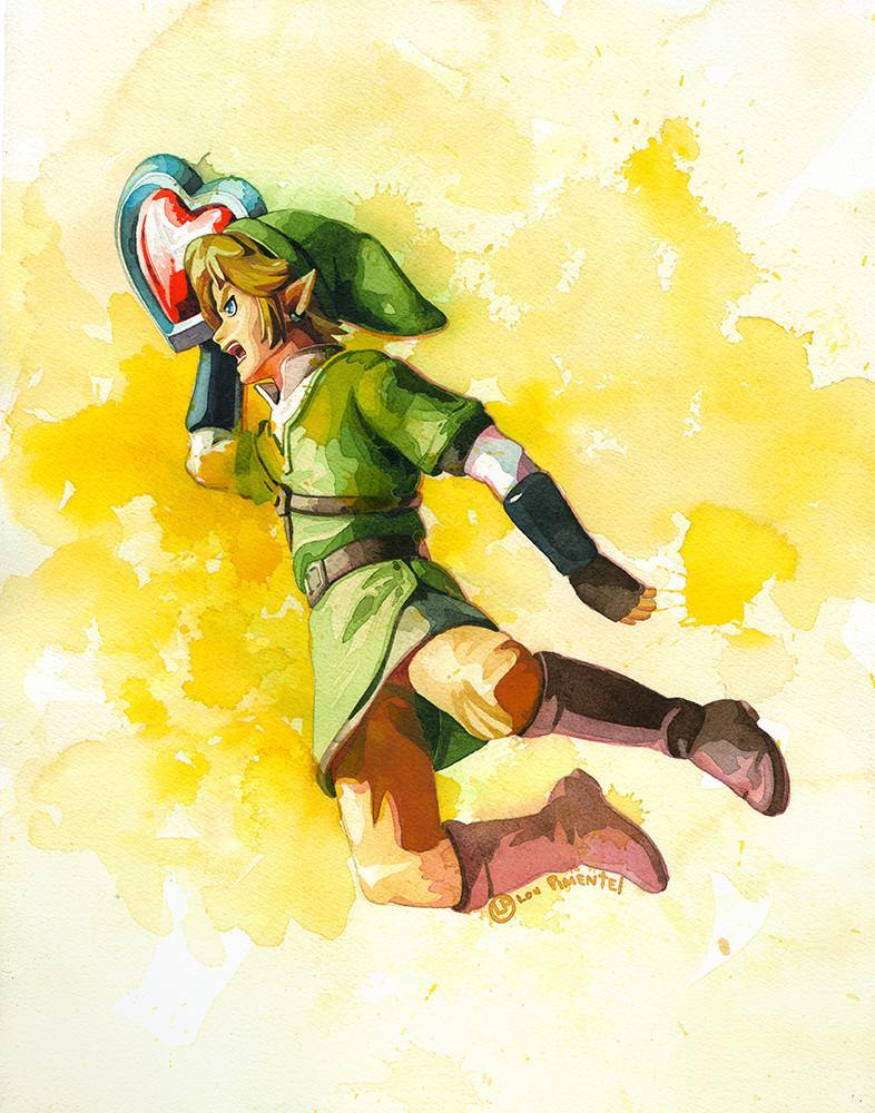 """A Link to my Past"" Original by Lou Pimentel - Hero Complex Gallery"