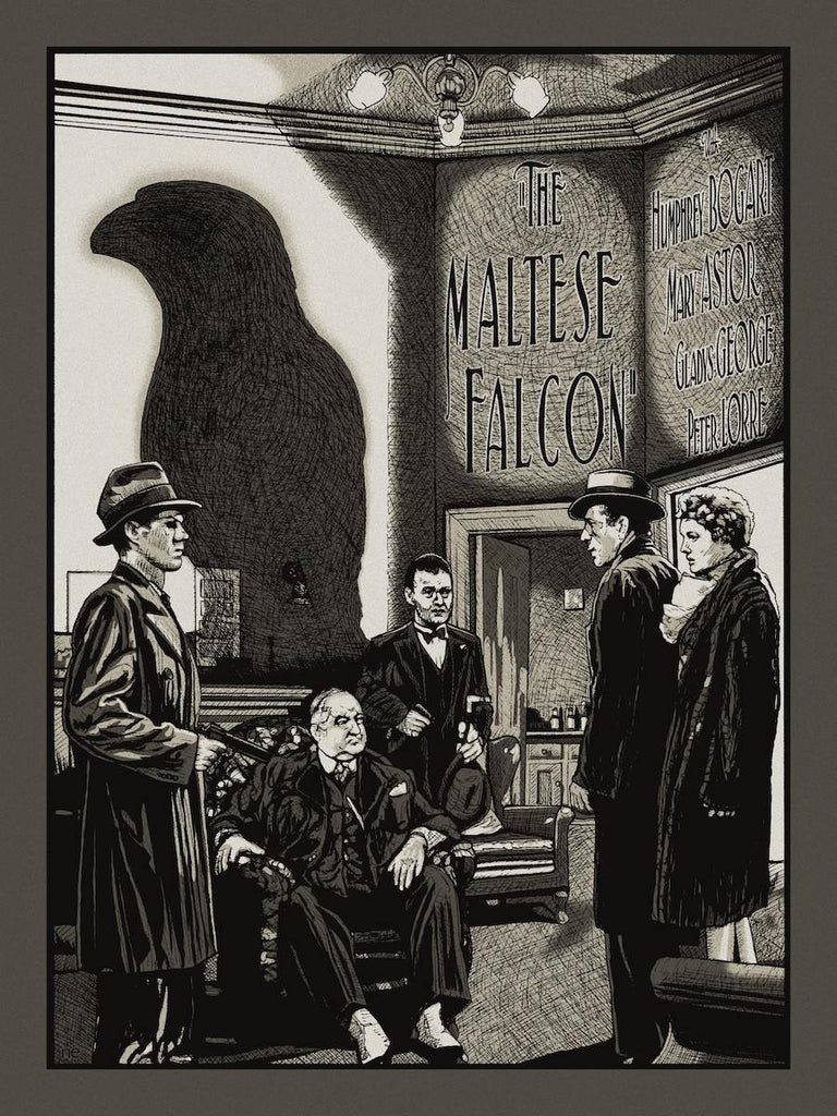 """The Maltese Falcon"" by New Flesh - Hero Complex Gallery"