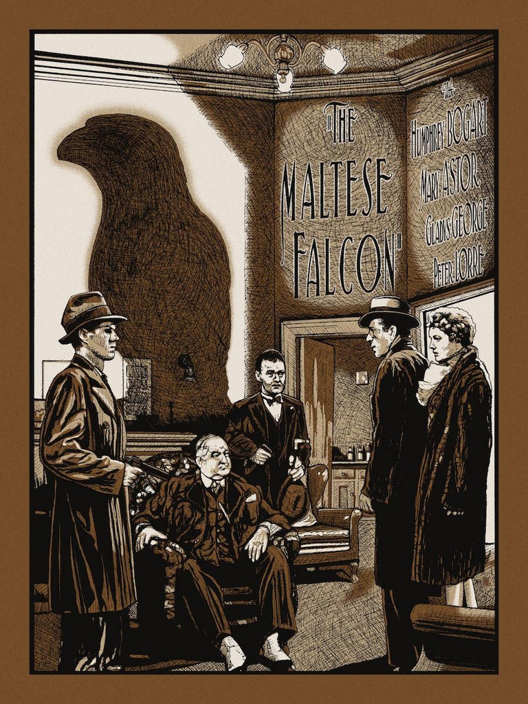 """The Maltese Falcon"" Gold Variant by New Flesh - Hero Complex Gallery"