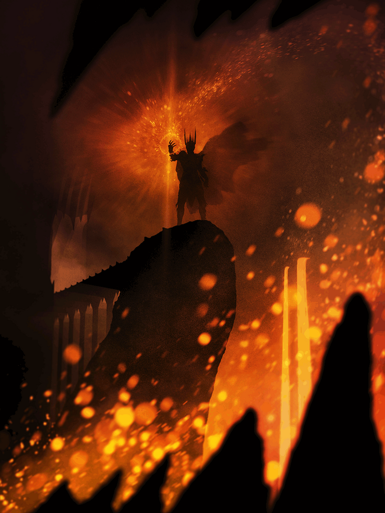 """Forging the One Ring"" by Marko Manev - Hero Complex Gallery"