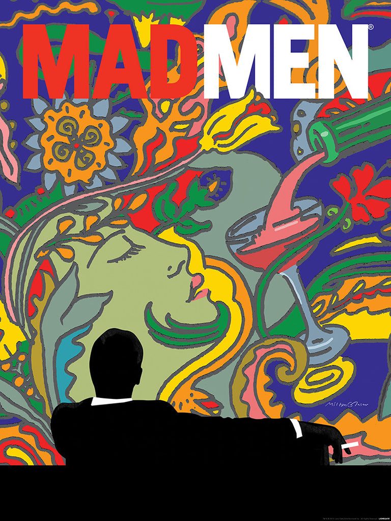 """Mad Men"" by Milton Glaser - Hero Complex Gallery"