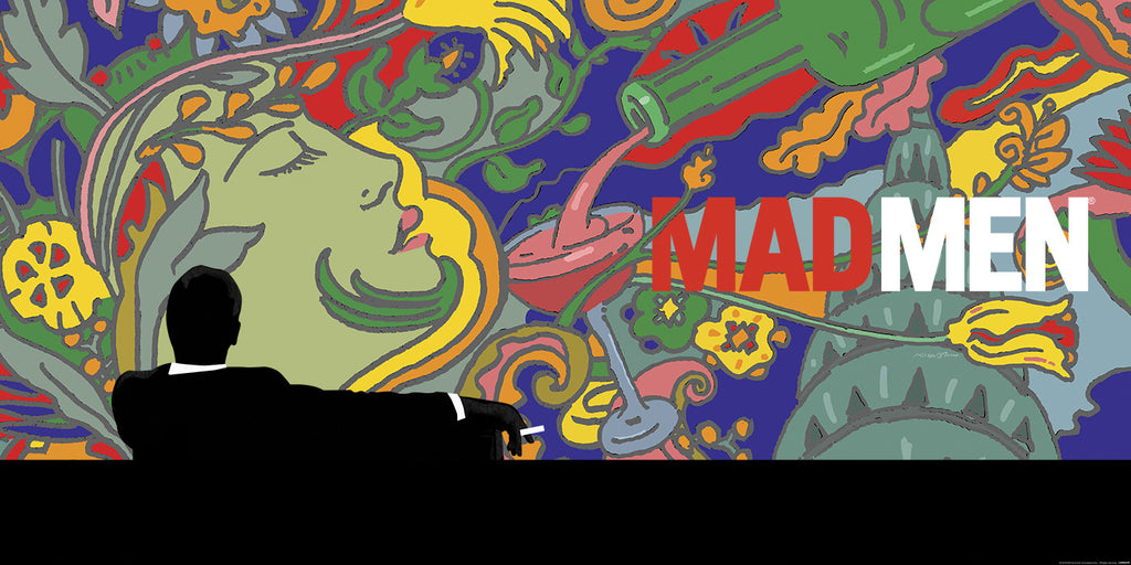 """Mad Men"" Landscape by Milton Glaser - Hero Complex Gallery"