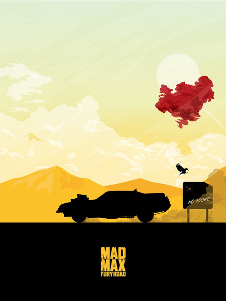 """Mad Max Fury Road"" by La Fabrique de Posters by Maxime Crouzet - Hero Complex Gallery  - 1"