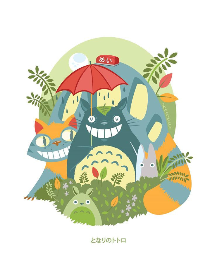 """My Neighbor Totoro"" by Male Cuellar - Hero Complex Gallery"