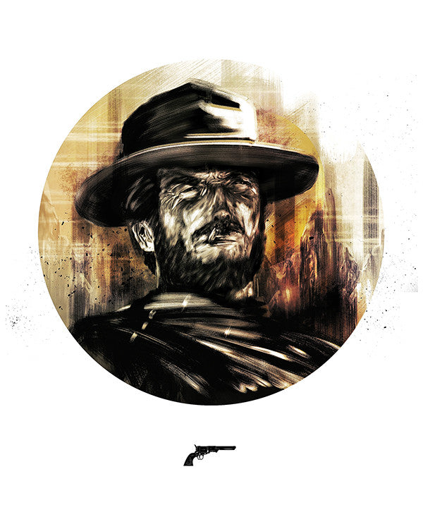 """Gunslinger: Man With No Name"" by Luke Butland - Hero Complex Gallery"