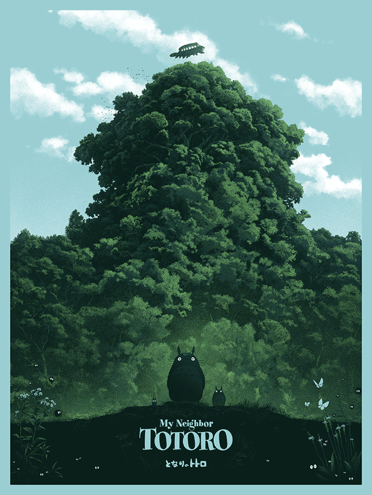 """My Neighbor Totoro"" by Marko Manev - Hero Complex Gallery"