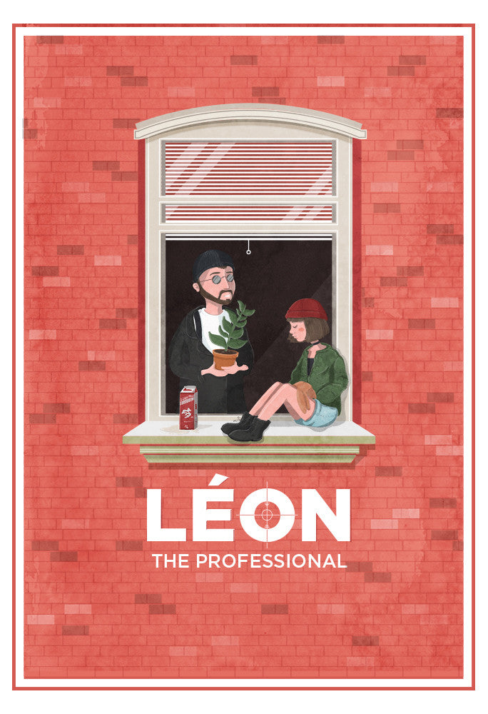 """Léon & Mathilda"" by Maria Suarez-Inclan - Hero Complex Gallery"