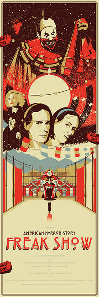 """American Horror Story - Freak Show"" by Marinko Milosevski - Hero Complex Gallery"