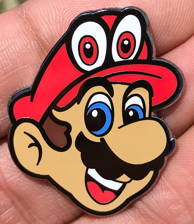 "087. ""Mario"" Pin by Little Shop of Pins"