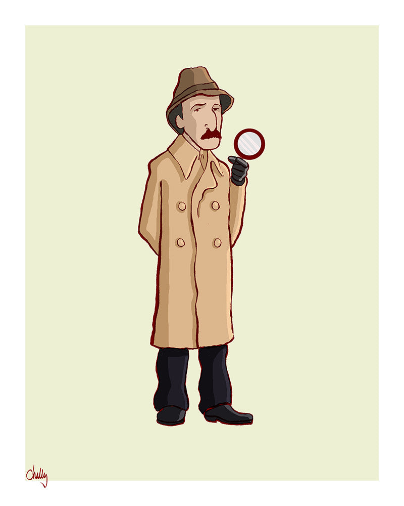 """The Good Guys: Clouseau"" by Mark Chilcott - Hero Complex Gallery"