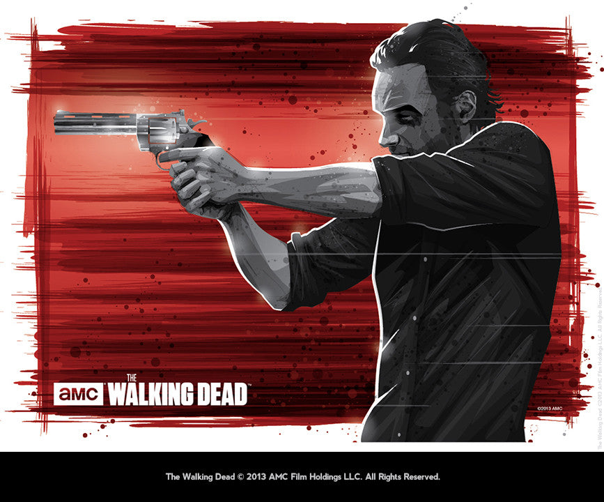 """Rick Grimes"" by Mark Reihill - Hero Complex Gallery"