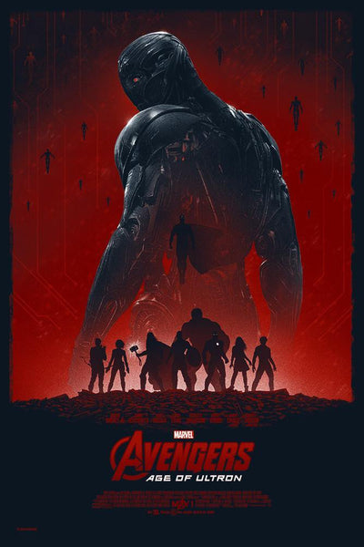 """Age of Ultron"" by Marko Manev - Hero Complex Gallery"