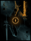 "King of Spades: ""Witch-King of Angmar"" by Marko Manev - Hero Complex Gallery"