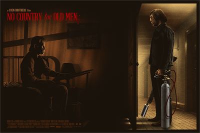 """No Country for Old Men"" by Marko Manev - Hero Complex Gallery"