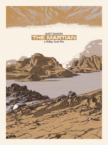 """The Martian"" by New Flesh - Hero Complex Gallery"