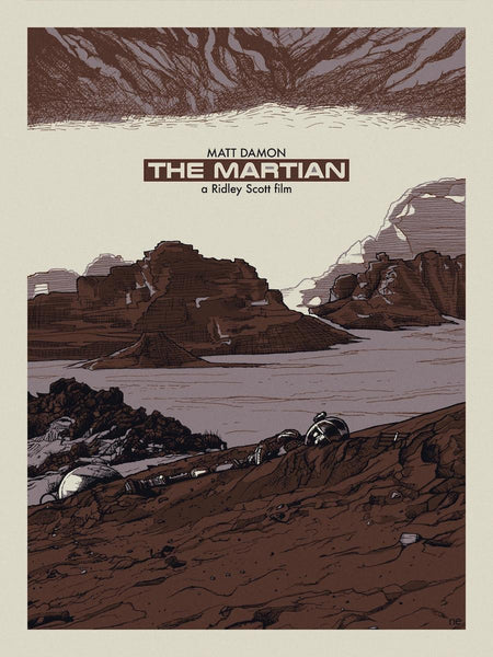 """The Martian"" Variant by New Flesh - Hero Complex Gallery"