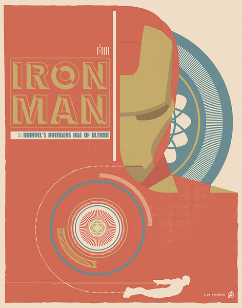 """Iron Man"" by Matt Needle - Hero Complex Gallery"