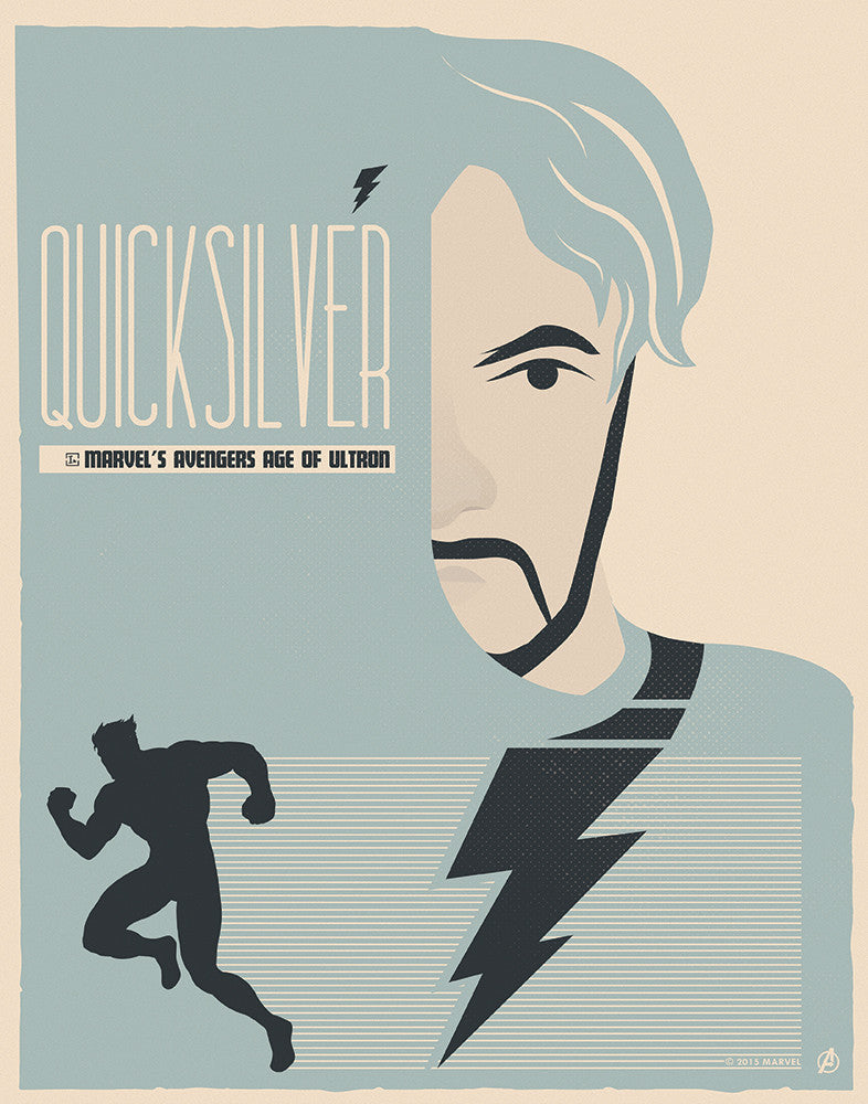"""Quicksilver"" by Matt Needle - Hero Complex Gallery"