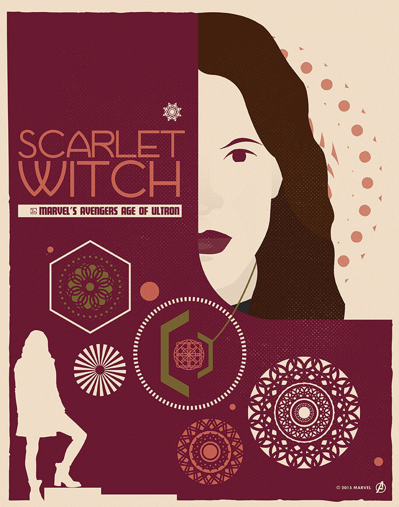 """Scarlet Witch"" by Matt Needle"