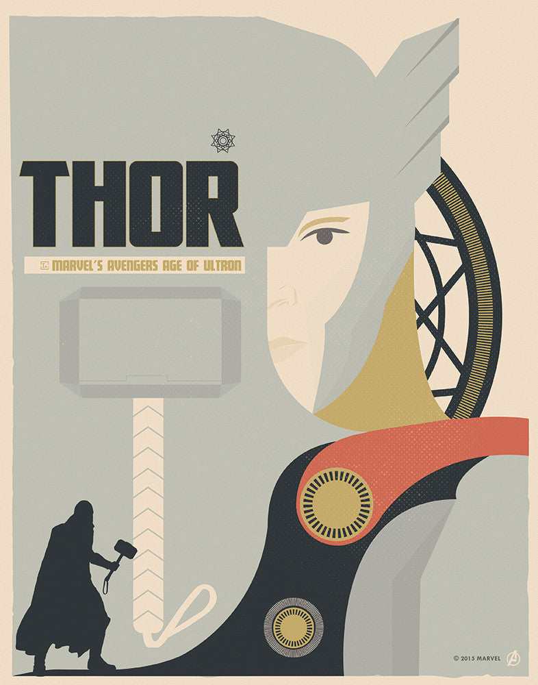 """Thor"" by Matt Needle - Hero Complex Gallery"