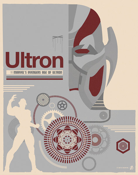 """Ultron"" by Matt Needle - Hero Complex Gallery"