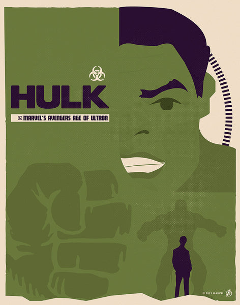 """Hulk"" by Matt Needle - Hero Complex Gallery"