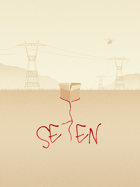 """SE7EN"" by MAT WELLER - Hero Complex Gallery"